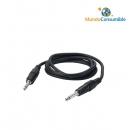 Cable Audio Jack 6.3Mm Mono Macho - Macho 1.80 Metros