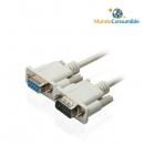 Cable Serie Db9Macho - Db9Hembra 1.80 Metros