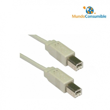 CABLE USB 2.0 B/M / BM - 1.8m