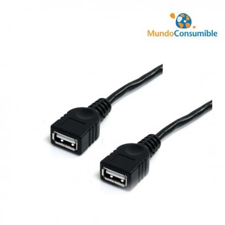 CABLE PROLONGADOR USB 1,8MT. - HEMBRA - HEMBRA
