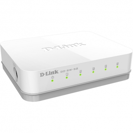 SWITCH 5P D-LINK 10/100/1000 - GO-SW-5G