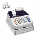 Caja Registradora Olivetti ECR 6800 + 10 Rollos Papel