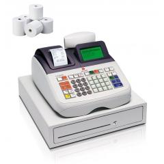 Caja Registradora Olivetti ECR 8200 + 10 Rollos Papel