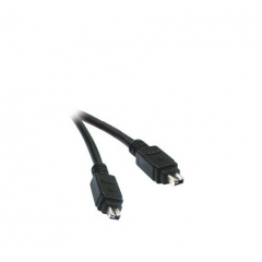 CABLE FIREWIRE IEEE 1394 M/M. - 4PM/4PM - 1.80 M.