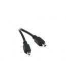Cable Firewire Ieee 1394 M-M. - 4Pm-4Pm - 1.80 M.