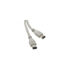 Cable Firewire Ieee 1394 M-M. - 6Pm-6Pm - 1.80 M.
