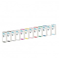 Tinta Hp Designjet Z2100-Z3100 70 Cian