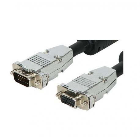 CABLE VGA MACHO/MACHO 20.00 METROS ALTA CALIDAD CONECTOR DESMONTABLE