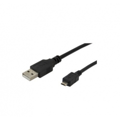 CABLE USB 2.0 TIPO A/MACHO - SUPER MINI B/MACHO (4PINES)