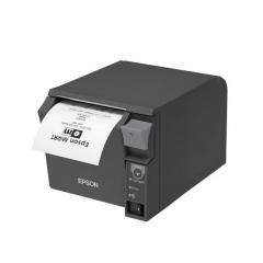 IMPRESORA DE TICKETS TERMICA EPSON TM-T70II - USB + PARALELO - 250 MM/SEG - ANCHO PAPEL 80MM - CORTE PARCIAL - GRIS