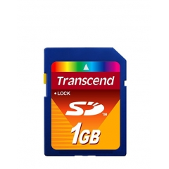 SECURE DIGITAL 1GB TRANSCEND