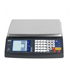 Balanza Comercial Gram Xfoc-30 30Kg 310X220Mmrs Conexion Rs232 (Bateria+Luz)