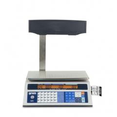 Balanza Comercial Gram M6 30Kg 340X225 + Impresora + Visor Alto