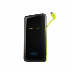 ENERGY SISTEM POWER BANK 5000mAh EXTRA BATTERY 2XUSB NEGRA
