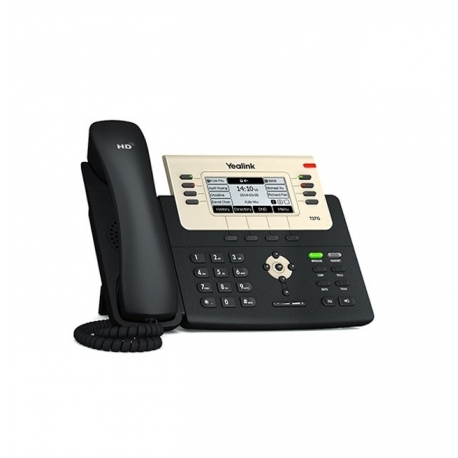 TELEFONO IP YEALINK SIP-T27G 6 LINEAS SIP + POE
