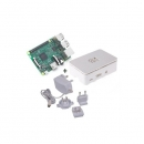 Raspberry Pi 3 1Gb + Caja Blanca + Fuente 5.1V