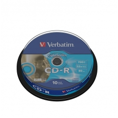 Verbatim CD-R Pack 10 Lightscribe 700MB 52X