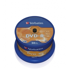 Verbatim DVD-R Pack 50 4.7GB 16X