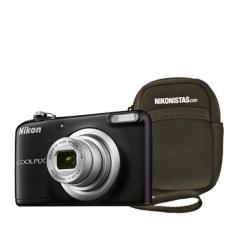 Nikon Coolpix A10 16.44MP + Estuche Negra Camara Fotos