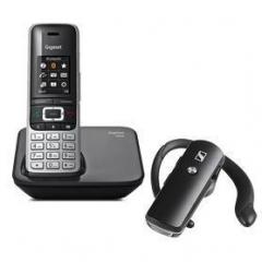 Gigaset S850 + Sennheiser EZX70 Bluetooth Pack DECT + Bluetooth Telefono Inalambrico