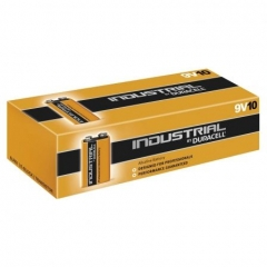 Pack 10 Pilas Duracell Industrial 9V Alcalina 9V