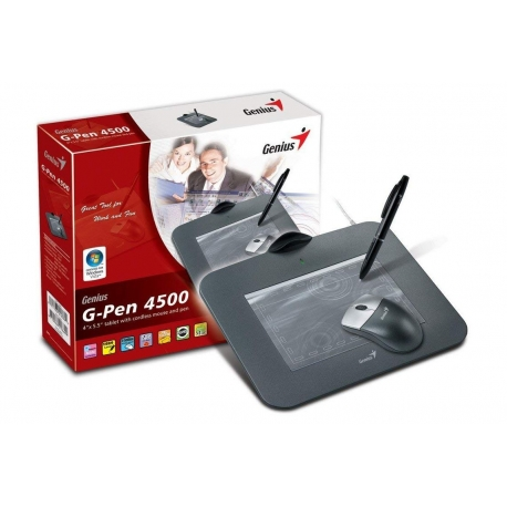TABLETA GRAFICA GENIUS G-PEN 4500 + RATON INLAMBRI