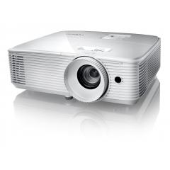Optoma HD27e FullHD Proyector + Pantalla Electrica 2.40m x 1.80 + Mando