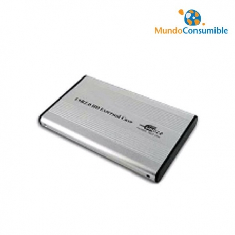 CARCASA IDE HDD ULTRA FINA 2.5 USB 2.0 + FUNDA