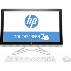 HP AiO 24-e006ns 24'' Ci3-7100U 4GB 1TB Tactil Wifi Bluetooth Blanco (Outlet)