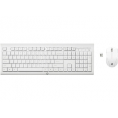HP C2710 Kit Teclado Raton Wireless Blanco