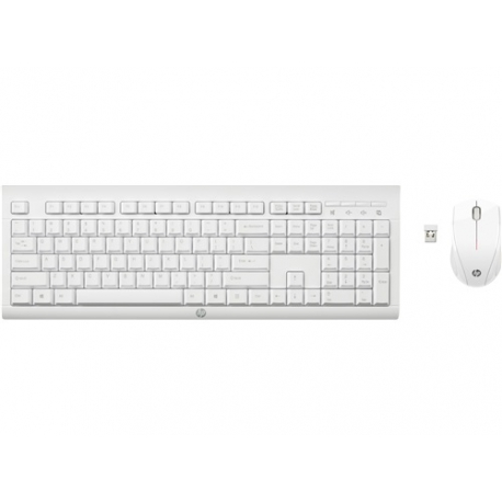 HP C2710 Kit Teclado Raton Wireless Blanco