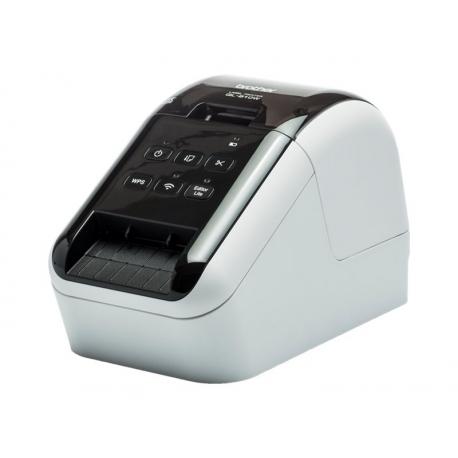 Brother QL-810W Impresora Etiquetas Profesional Wifi Bicolor Negro/Rojo