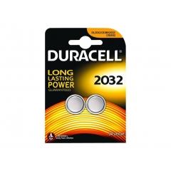 Duracell CR2032 / DL2032 3V Pack 2 Pila Boton