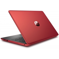 HP 15-da0123ns 15.6'' Ci3-7020U 4GB 128GB SSD W10 Home Rojo (Outlet)