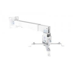 Soporte proyector techo/pared Acero Blanco (430-650mm)