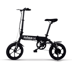 Nilox Doc E-Bike X2 Plus Bicicleta Electrica Plegable Acero + Regalo Action Cam Nilox