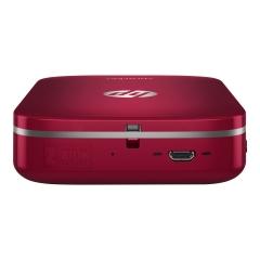HP Sprocket Z3Z93A Roja Tecnologia Zink Impreosra Fotografica Bluetooth