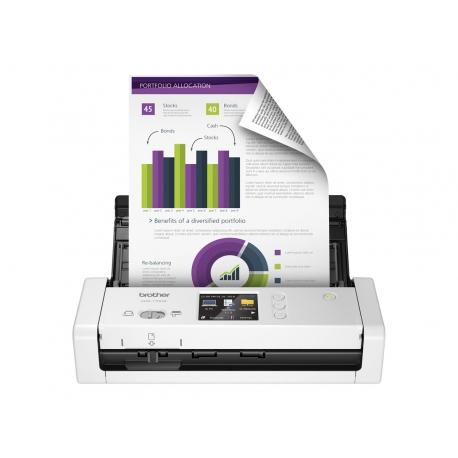 Brother ADS-1700W Escaner Portatil documental Duplex Wifi ADF