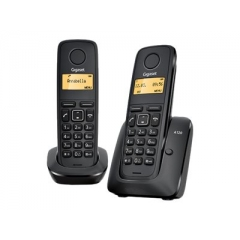 Siemens Gigaset A120 Duo Negro Pack 2 Telefono DECT Inalambrico