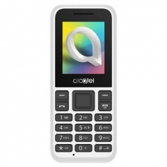 Alcatel 1066D Telefono Movil Pantalla 1.8'' Camara Blanco Libre (Outlet)