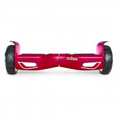 Hoverboard Nilox Doc 2 Rueda 6.5'' Rojo + Gorra Nilox