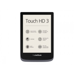 Pocketbook Touch HD 3 Metalic 6'' 16GB Wifi (Outlet)