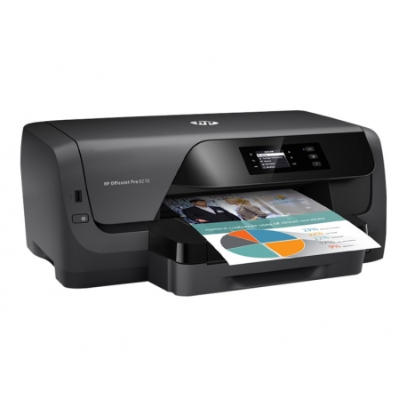 HP Officejet Pro 8210 Impresora Tinta Wifi Duplex (Instant Ink)