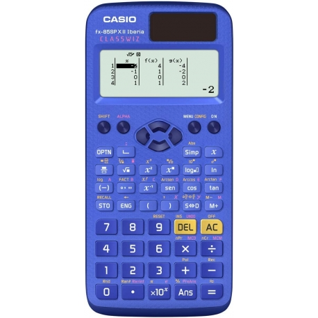 Casio FX-85SP X II Iberia Classwiz Español Calculadora Cientifica