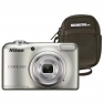 Nikon Coolpix A10 16.44MP + Estuche Plata Camara Fotos