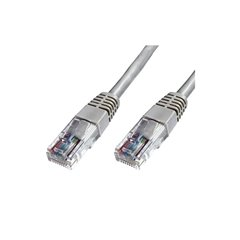 Cable UTP Phasak Cat. 6 24AWG gris 1m