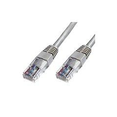 Cable UTP Phasak Cat. 6 24AWG gris 5 m