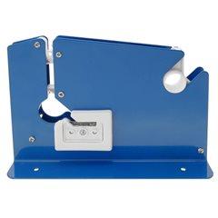 Precintador Cierra Bolsas / Selladora Plastico + 5 cintas color Azul