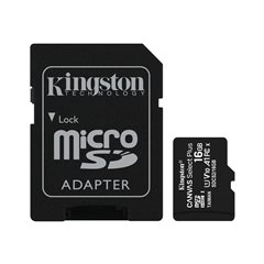 Kingston Canvas Select Plus - 16 GB - microSDHC UHS-I