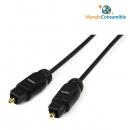 Cable Optico Digital.Toslink - Toslink 1M. - Fibra Optica